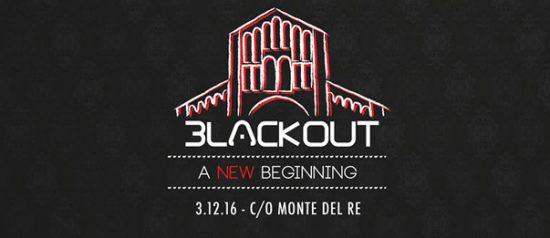Black Out all'Hotel Monte del Re