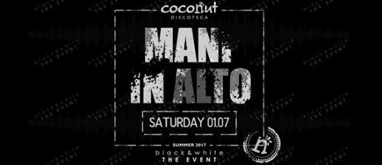 Black&white - Mani in alto! al Coconut di Capo D'Orlando