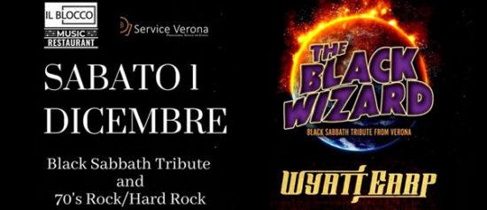 The Black Wizard a Il Blocco Music Hall a San Giovanni Lupatoto
