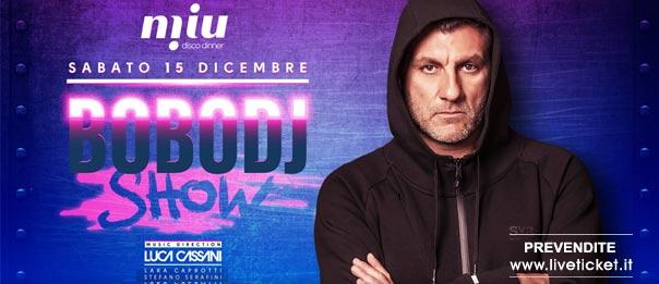 Special guest Bobo Dj al Miu Disco Dinner a Mondolfo