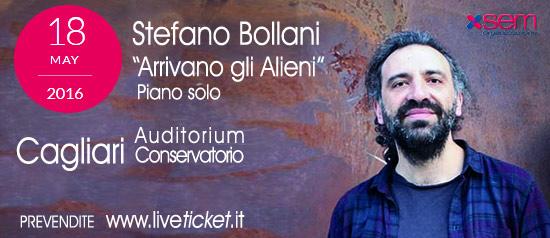 """Stefano Bollani """"Arrivano gli Alieni"""" a Cagliari"""