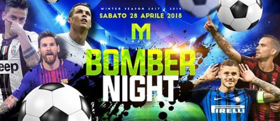 Bomber night al Mall Club di Rescaldina