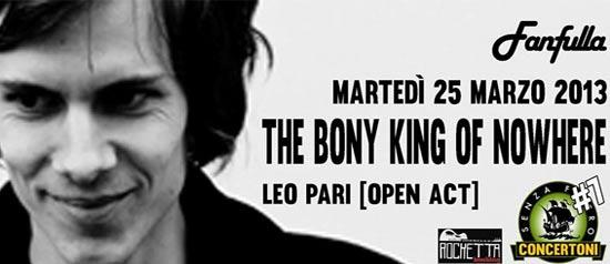 Bony King of Nowhere al Forte Fanfulla di Roma