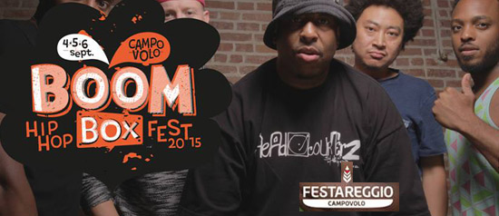 Boombox Festival a Campovolo Reggio Emilia