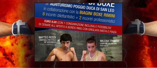 1° Gran Galà di Boxe