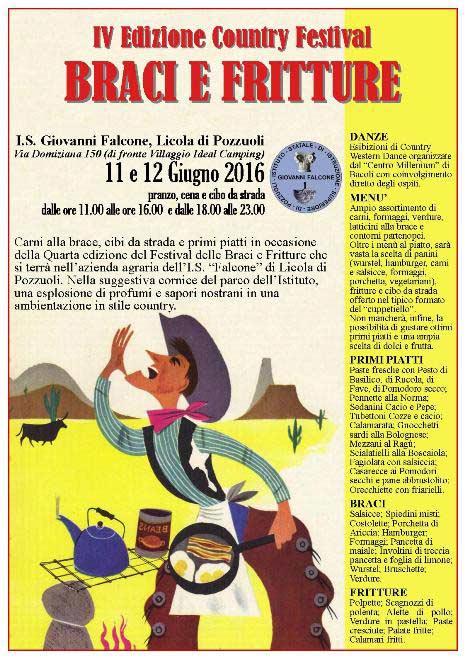 Country Festival delle Braci e Fritture a Licola di Pozzuoli