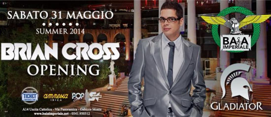 Opening Summer 2014 Brian Cross Baia Imperiale