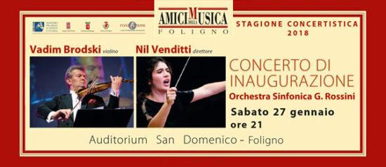 Concerto d'inaugurazione all'Auditorium San Domenico di Foligno