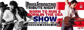 Bruce Springsteen tribute - Born to run & Born in the Usa show @ Ausonia Trieste
