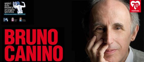 """""""Bruno Canino"""" al Teatro TaTà di Taranto"""