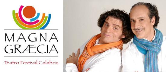 """Giacomo Battaglia e Gigi Miseferi """"Romanzo Mitologico"""" al Magna Graecia Teatro Festival"""