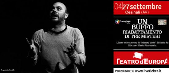 Un Buffo riadattamento di tre Misteri al Teatro D'Europa a Cesinali