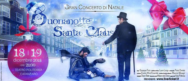 Buonanotte Santa Claus al Teatro Politeama di Catanzaro