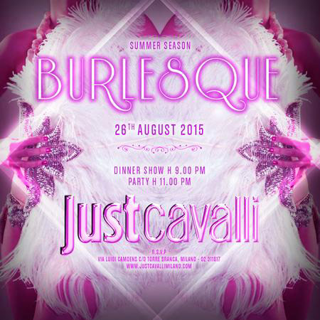 Burlesque al Just Cavalli Club di Milano