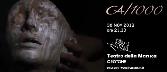 CA/1000 al Teatro della Maruca a Crotone