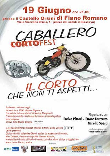 Caballero Corto Fest a Fiano Romano
