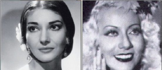 """Prima Donna"" Maria Callas vs Wanda Osiris a Varzi"