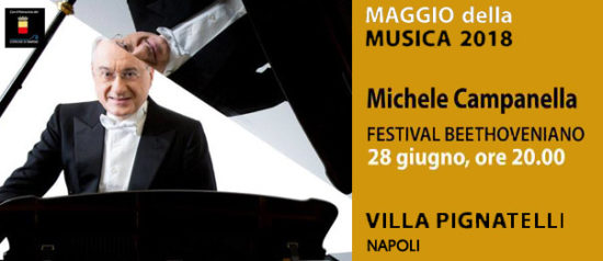 Michele Campanella a Villa Pignatelli a Napoli