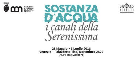 Sostanza d'acqua - i canali della Serenissima al Palazzetto Tito a Venezia
