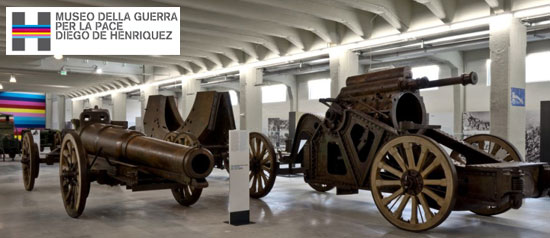 "Civico Museo della Guerra per la Pace ""Diego de Henriquez"" a Trieste"