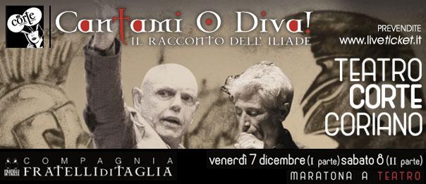 Cantami o Diva al Teatro CorTe di Coriano