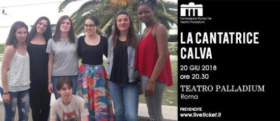 La Cantatrice Calva al Teatro Palladium a Roma