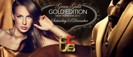 Capodanno 2017 *Gran Galà Golden Edition* a The Club Milano