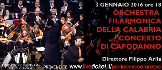 """""""Concerto di Capodanno"""" al Teatro Politeama di Catanzaro"""