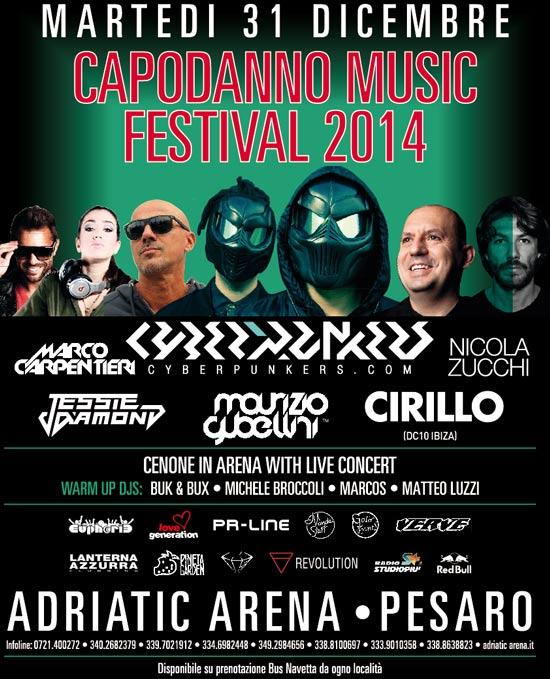 Capodanno Music Festival all'Adriatic Arena di Pesaro