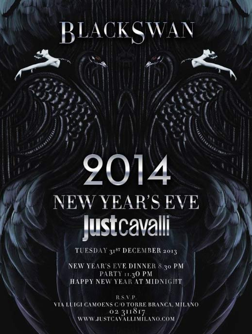 Black Swan New Year's Eve al Just Cavalli di Milano