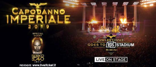 Capodanno imperiale allo RDS Stadium a Rimini