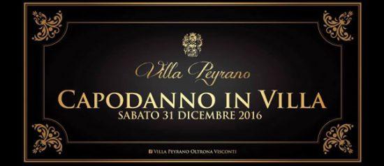 Capodanno in Villa a Villa Peyrano di Albarola di Vigolzone