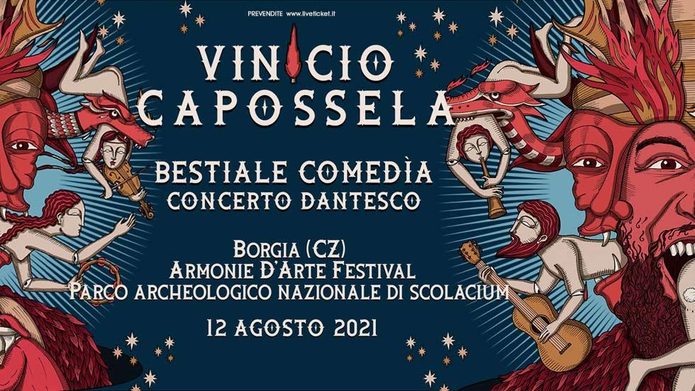 VINICIO CAPOSSELA BESTIALE COMEDIA a Borgia