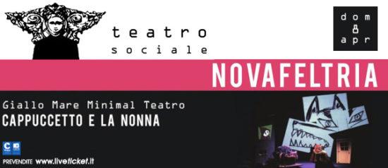 Cappuccetto e la nonna al Teatro Sociale di Novafeltria