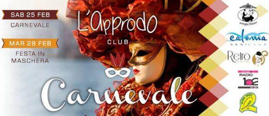 Carnevale a L'Approdo Club a Pizzolungo