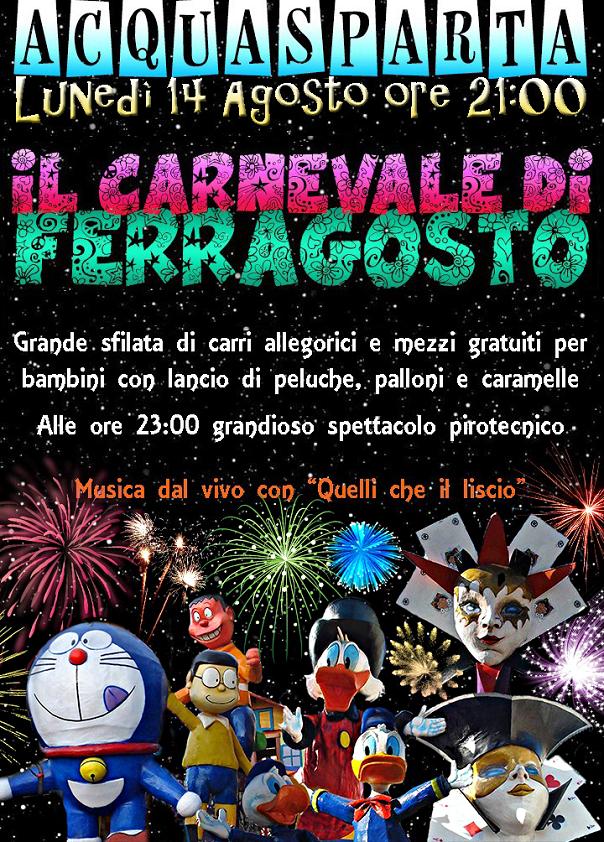 Carnevale di Ferragosto ad Acquasparta