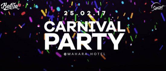 Carnival party al Mahara Hotel di Mazara del Vallo