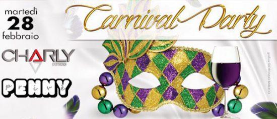 Carnival Party al Charly Disco Club di Gubbio
