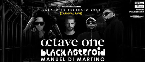 Concert and Carnival rave party al ECS Dogana Club a Catania