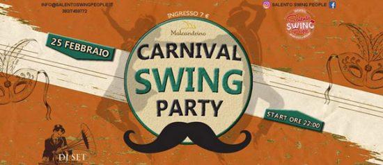 Carnival Swing Party al Malcandrino di Monteroni
