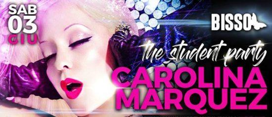 Carolina Marquez - Student Party al Paradise Bissò a Montereale