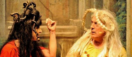 """Marina Thovez e Mario Zucca in """"Casina"""" all' Auditorium Joyce di Ariccia"""