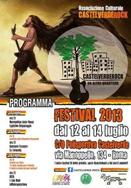 Castelverderock Festival 2013 a Roma