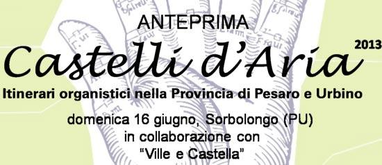 Anteprima Festival Castelli d'Aria 2013 a Sorbolongo