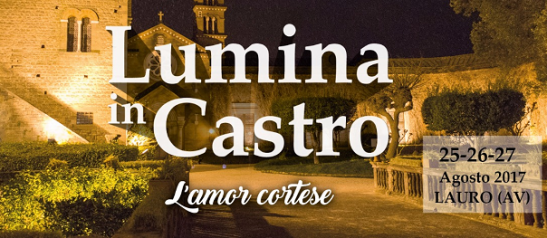 """Lumina in Castro L'amor Cortese"" a Lauro"
