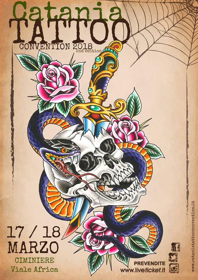 Catania Tattoo Convention 2018 alle Ciminiere di Catania