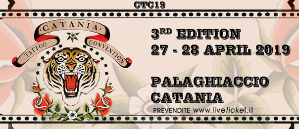 CATANIA TATTOO CONVENTION 2019 al Palaghiaccio di Catania