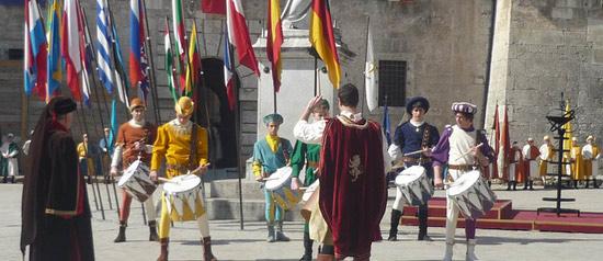 Celebrazioni Benedettine a Sant'Anatolia di Narco, Piedivalle di Preci, Norcia