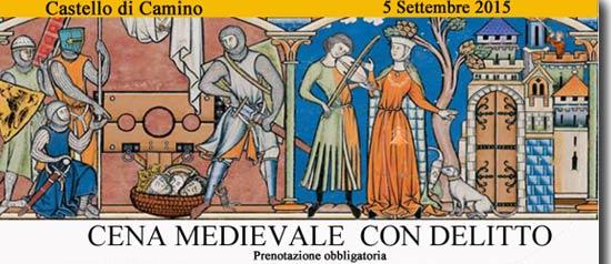 Cena Medievale con Delitto ad Alessandria