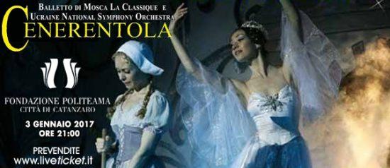 """Balletto di Mosca La Classique """"Cenerentola"""" al Politeama Catanzaro"""